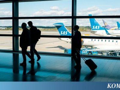 1.400 Pilot Mogok Kerja, Ratusan Ribu Penumpang Maskapai SAS Telantar