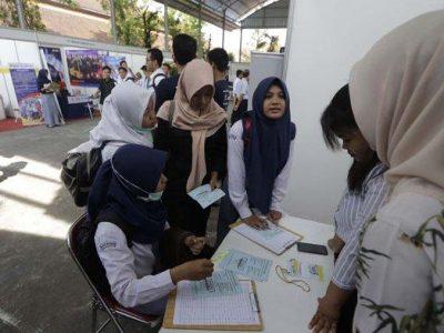 Dorong Lulusan SMK Terserap Dunia Kerja, SMKN 3 Yogyakarta Gelar Job Matching
