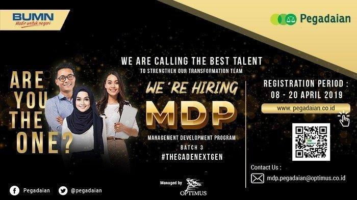 Lowongan Kerja 2019 - PT Pegadaian Butuh Karyawan, Dicari Lulusan S1 Semua Jurusan, Ditutup 20 April
