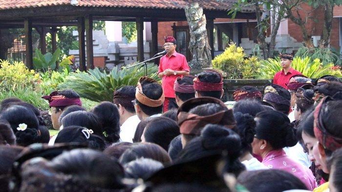 ASN Pemprov Bali Jangan Lelet Kerja, Jangan Menyogok, Ini Ancaman Gubernur