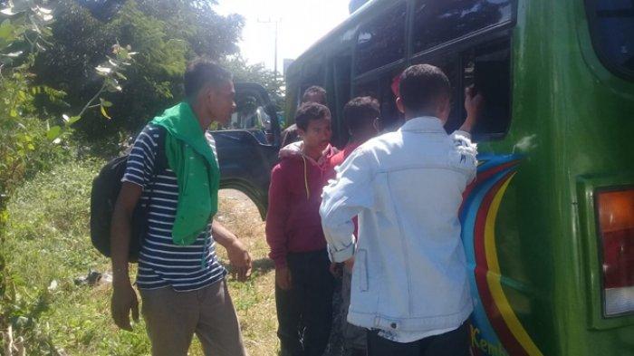 BREAKING NEWS: Polsek Borong Gagalkan Pengiriman Tenaga Kerja Ilegal Tujuan Kalimantan