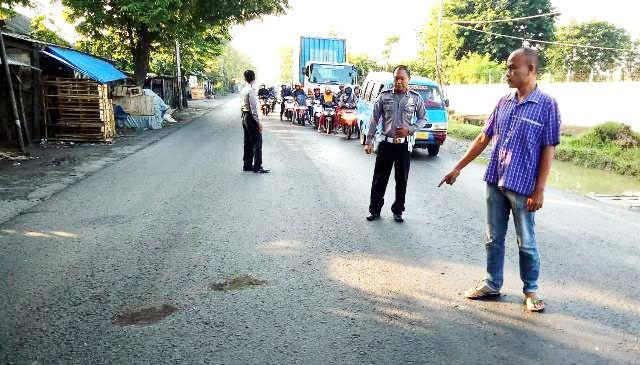 Berangkat ke Tempat Kerja, Pegawai Bank Tewas Dilindas Bus