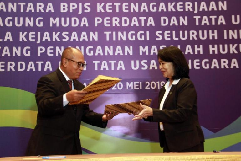 Gandeng Jamdatun, BPJS Tenaga Kerja Usut Perusahaan Nakal