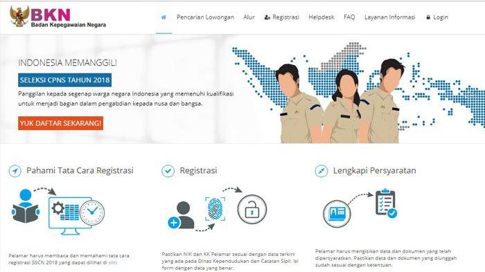 Info Penerimaan CPNS 2019, Pemerintah Buka 100.000 Lowongan Pada   Akhir Tahun