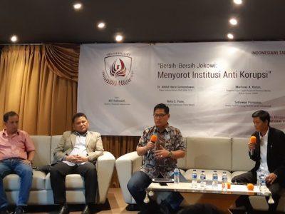 KPK Kerja Sendiri , IPW Kritik Polri dan Kejaksaan