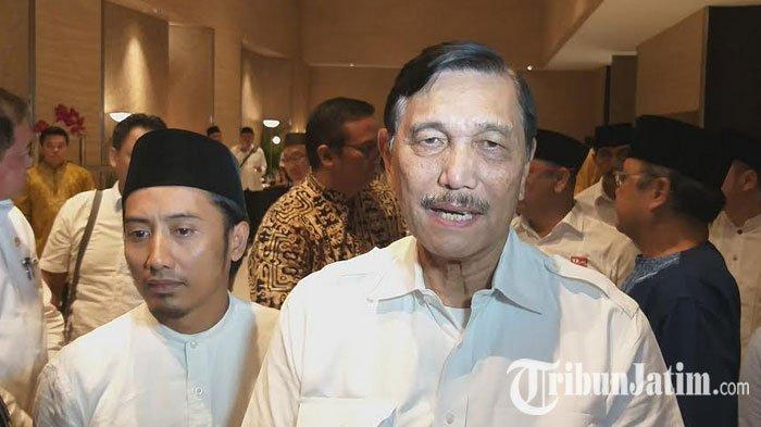 Perolehan Suara Jokowi Naik Dibanding 2014, Luhut Panjaitan Apresiasi Kerja Elemen Timses di Jatim