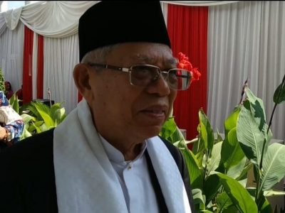 Halalbihalal dengan JK, Maruf Amin Janji Kerja dengan Baik