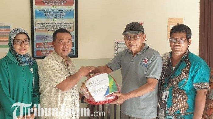 Kecelakaan Tunggal, BPJS Ketenagakerjaaan Surabaya Darmo Beri Dukungan Karyawan Radio Sonora