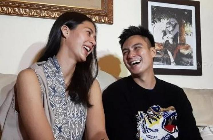 Baim Wong dan Paula Verhoeven. (Suara.com/Yuliani)