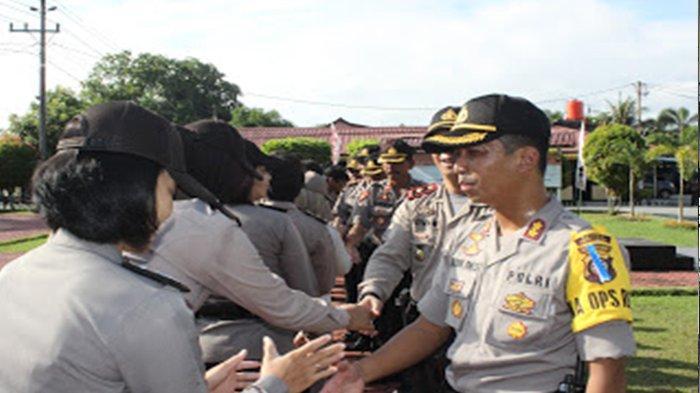Perdana Masuk Kerja, Kapolres Mempawah Halalbihalal Dengan Jajarannya