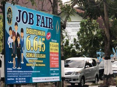 """6.645 lowongan pekerjaan disediakan pada """"job fair"""" di Yogyakarta"""