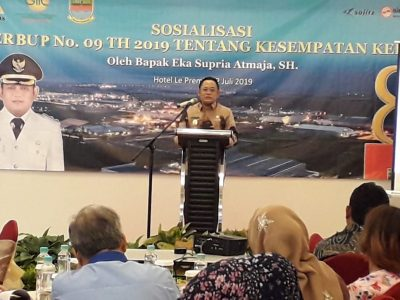 Bupati Bekasi : Ada Sekitar 150 Ribu Lebih Tenaga Kerja Yang Belum Mendapat Pekerjaan