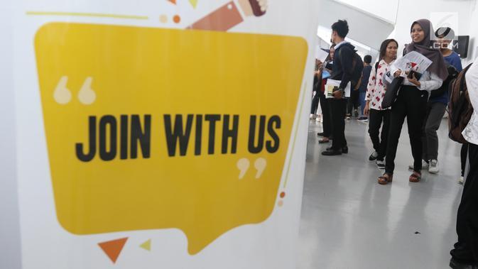FOTO: Berburu Lowongan Pekerjaan di Mega Career Expo 2019