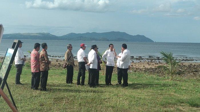 Tinjau KEK Likupang, Jokowi Tekankan Pentingnya Kerja Terintegrasi untuk Majukan Pariwisata