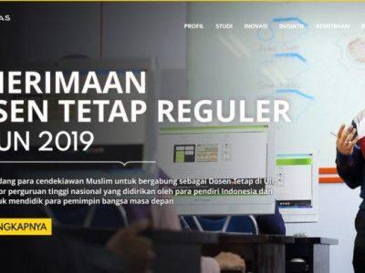 Universitas Islam Indonesia Buka Lowongan Kerja Besar-besaran, Cari Dosen Tetap untuk 32 Prodi